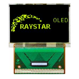 Grafický OLED displej Raystar RET009664AYPP3N00000