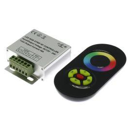 Regulátor RGB LED pásků s dálkovým dotykovým ovladačem RF 433Mhz