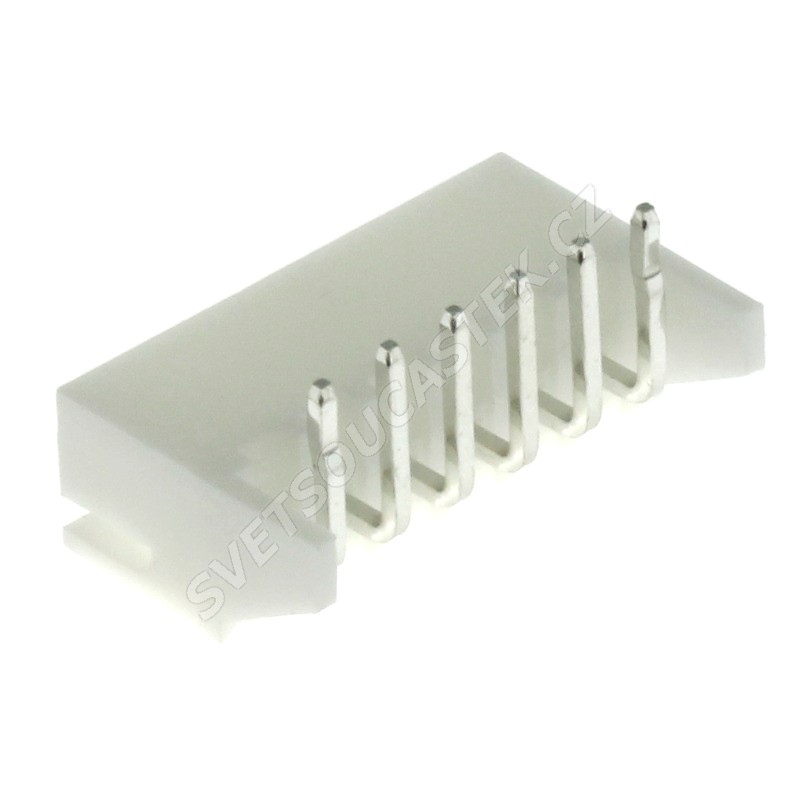Konektor pro ploché kabely 6 pinů (1x6) RM2.5mm do DPS úhlový 90° Joint Tech A2501WR-6P