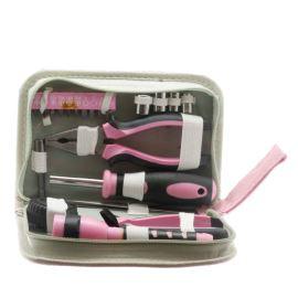 Sada nářadí 23ks pro dámy růžová barva Extol Craft 6595