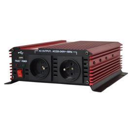 Menič napätia 12V / 230V 1000W CZ + USB CARSPA
