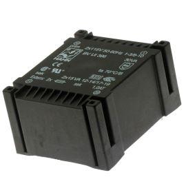 Trasnformátor plochý do DPS 30VA/2x115V 2x9V Hahn BV UI 396 0102