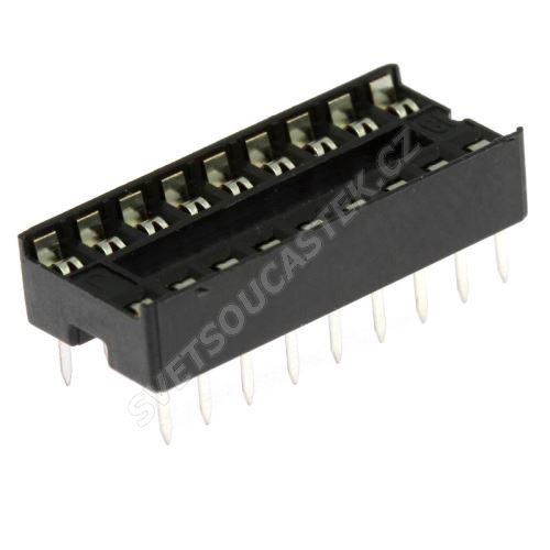 Patice pro IO 18 pinů úzká DIL18 Xinya 125-3-18