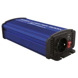 Měnič napětí do auta 12V/230V 600W + USB 2100mA