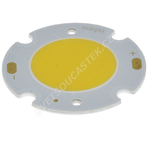 LED 10W kulatá stud. bílá 900lm/120° Hebei 10VAC30DW6