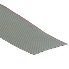 Plochý kábel AWG28 26 žil licna rozteč 1,27mm PVC šedá farba