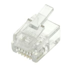 Konektor RJ12 na kabel 6-6 Connfly DS1122-01-P60T