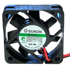 Ventilátor 40x40x10mm 24V DC/60mA 27dB SUNON KDE2404PFV2-11AB