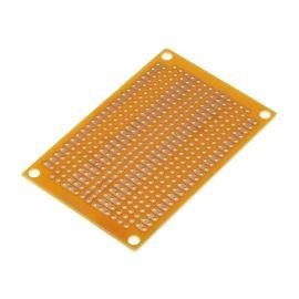 Univerzální plošný spoj 72x47x1,6mm společné kontakty vrtaný RM 2.54 kulaté body SCI PC-4