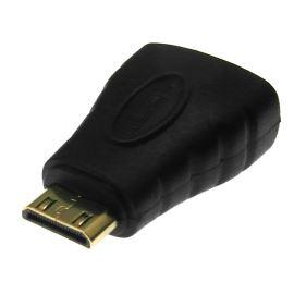 Redukce mini HDMI vidlice na typ A HDMI zásuvka