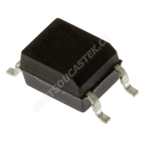Optočlen s fototranz. CTR 130..260% Uisol 3750V 4-pin Mini-Flat SMD Sharp PC357N2TJ000F