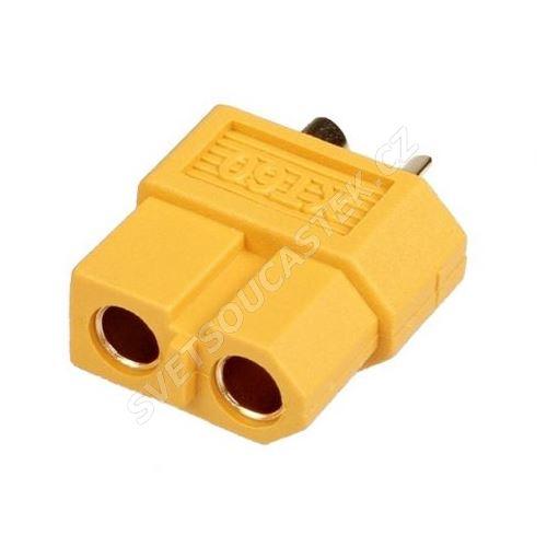 Silový konektor pro RC modely zásuvka Amass XT60