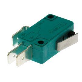 Mikrospínač na faston 6.3mm přepínací 1-pólový ON-(ON) 10A 125/250V AC Jietong  MSW-02 L=13mm