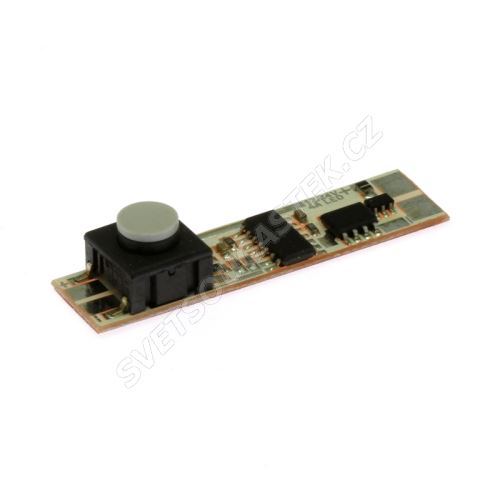 Mikro vypínač pro LED pásky do profilu 12-24VDC/4A KLUŚ 1576