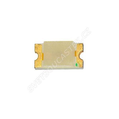 LED SMD vel. 0603 zelená 300mcd/130° Hebei 0603LGCT