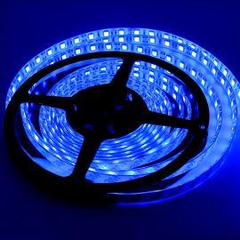 LED pásek modrá délka 1 metr, SMD 5050, 60LED/m - vodotěsný (silikagel) - IP65 STRF 5050-60-B-IP65