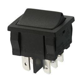 Kolébkový spínač do panelu přepínací 2-pólový ON-ON 6A/250V AC Bulgin H8660VBAAA