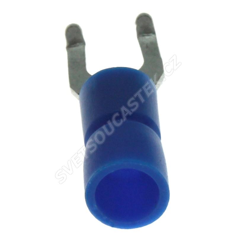 Vidlička na kabel krimpovací pro šroub M4 KSS LYF2-4