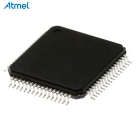 8-Bit MCU ISP 2.7-5.5V 64K-Flash 60MHz VQFP68 Atmel AT89C51ED2-RDTUM