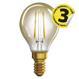 LED žiarovka Vintage Mini Globe 2W / 360 ° teplá biela E14 / 230V Emos Z74305