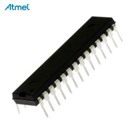 8-Bit MCU AVR 2.7-5.5V 16kB Flash 20MHz SDIP28 Atmel ATMEGA168P-20PU
