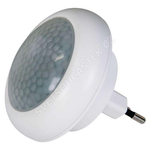 Noční světlo do zásuvky fotosenzorem a pir čidlem 8x LED, 230V