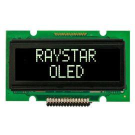 Alfanumerický OLED displej Raystar REC001202AWPP5N00000