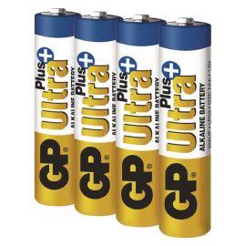 Alkalická baterie GP Ultra Plus LR03 (AAA), 4 ks v blistru