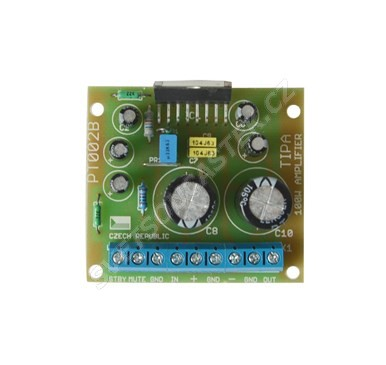 Elektronická stavebnice zesilovače 100W s TDA7294
