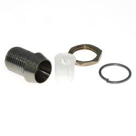 Objímka LED prům. 5mm mosazná - 3 dílná Hebei LC-05B