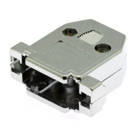 Kryt konektoru CANON 15 pinů plastové tělo, chromovaný povrch Xinya 158-15 P C
