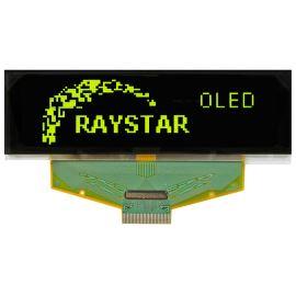 Grafický OLED displej Raystar RET025664BYPP3N00000