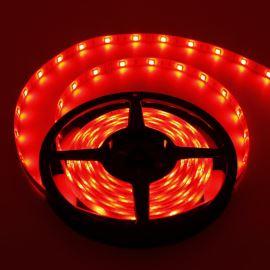LED pásek červená délka 1 metr, SMD 5050, 30LED/m - vodotěsný (silikagel) - IP65 STRF 5050-30-R-IP65