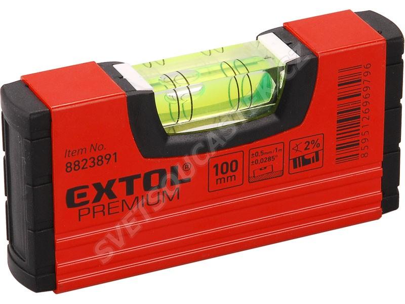 Kapesní vodováha 100mm Extol Premium 8823891