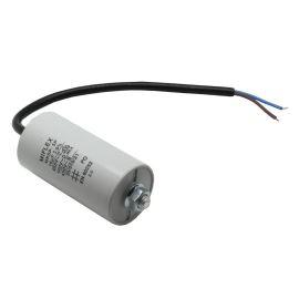 Rozběhový kondenzátor I150V618K-D 18uF/450V ±10% Kabely odizolované Miflex I150V618K-D