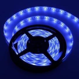 LED pásek modrá délka 1 metr, SMD 5050, 30LED/m - vodotěsný (silikagel) - IP65 STRF 5050-30-B-IP65