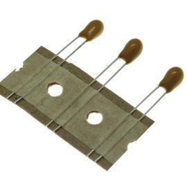 Tantalový kondenzátor radiální 1uF/35V 20% RM 2.54mm Kingtronics TKT010M3502AR