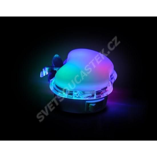 Noční světlo s vypínačem do zásuvky jablko LED 0.5W, 230V