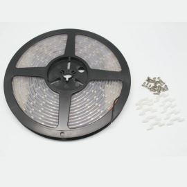 LED pásek studená bílá, SMD 3528, 60LED/m (balení 5m) - vodotěsný (silikon) STRF 3528-60-CW-IP66