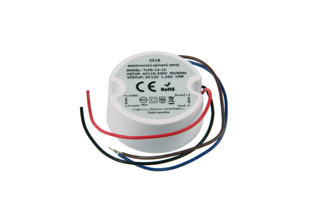 Napájecí zdroj pro LED pásky TLPS-12-15