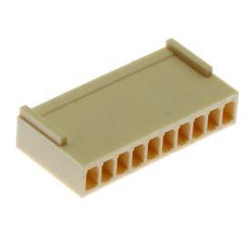 Konektor se zámkem pro 10 pinů (1x10) na kabel RM2.54mm Xinya 137-10 H