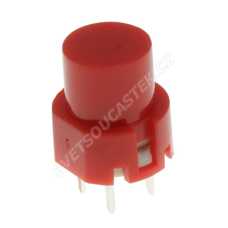 Tlačítkový spínač do DPS přímý spínací 1-pólový OFF-(ON) 0.01A 35V DC Highly KS01-BVR
