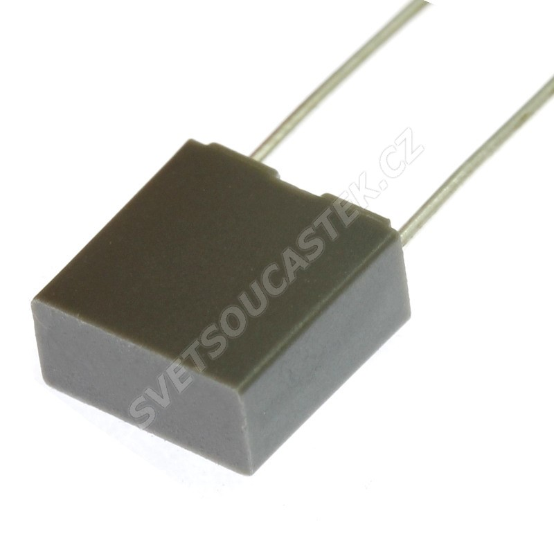 Fóliový kondenzátor 68nF/63V RM 5mm 7.2x6.5x2.5mm Faratronic C241J683J20A201