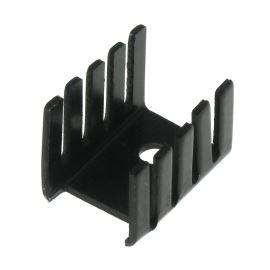 Hliníkový chladič pro TO220 černý anodizovaný DO1A