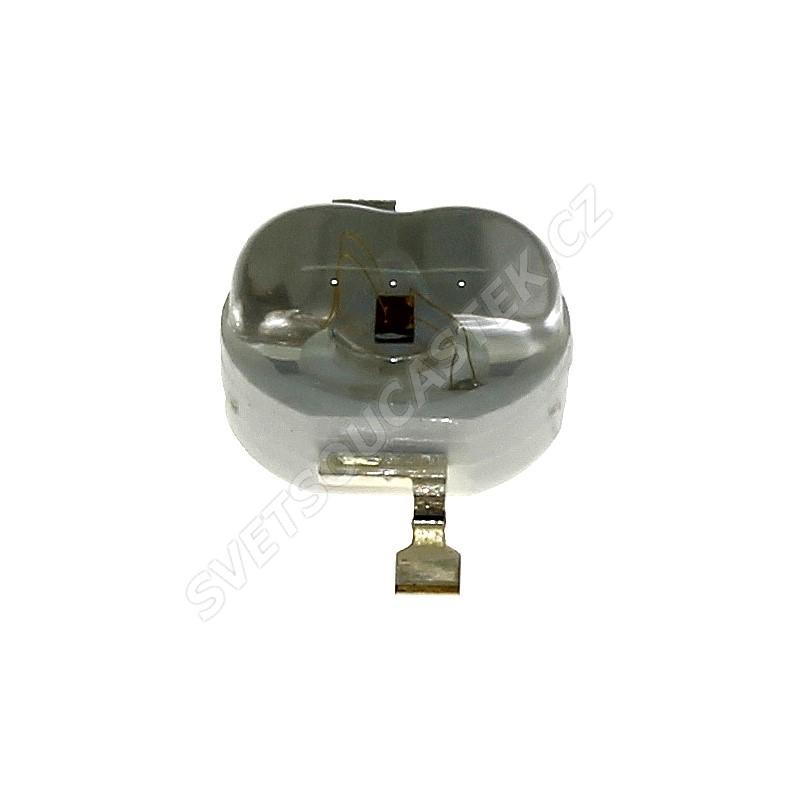 LED 1W oválná červená 40lm/(160/100°) Hebei E12LR2C-O