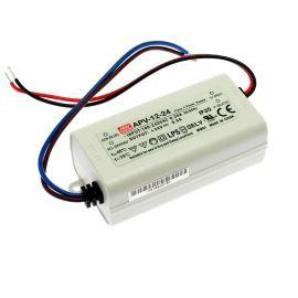 Napájací zdroj pre LED pásky 12W 24V / 0.5A IP30 Mean Well APV-12-24