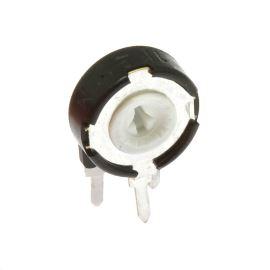 Uhlíkový trimr 10mm lineární 50k Ohm stojatý 20% Piher PT10LH01-503A2020S