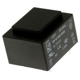 Transformátor do DPS 1.5VA/230V 1x6V Hahn BV EI 302 2020