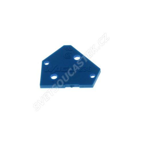 Bočnice pro svorkovnice modrá WAGO 236-400