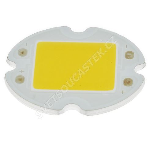 LED 3W kulatá teplá bílá 240lm/120° Hebei 3VAC9CW3